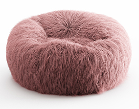 3D model Himalayan Faux-Fur Beanbag