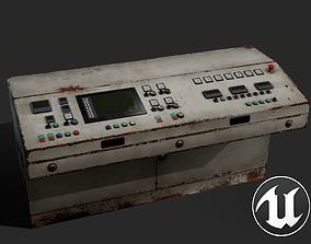 Control Unit 3D model realtime