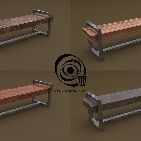 Bench 20 4in1 - 4 Texture 1 Model RR