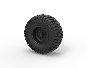 3D printable model Diecast Offroad wheel 10