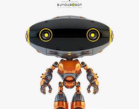 3D model Frog robot toy-companion I