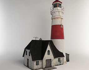 Light house 3D asset