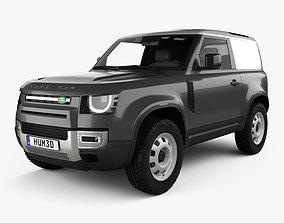 Land Rover Defender 90 HardTop 2020 3D model