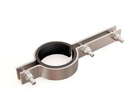 3D model Pipe clamp 04