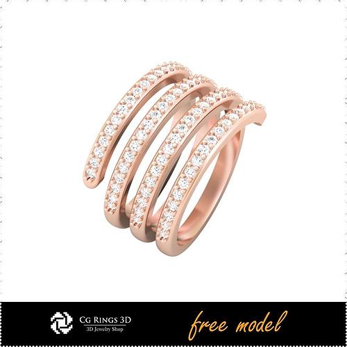 cad-cam-3d-gemstone-rings-free-3d-model-