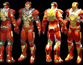 character Iron Man MK17 IGES 3D printable model