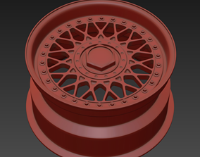 BBS RM Wheel 3D print model