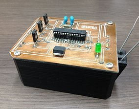 REMOTE ACTIVATED PRANK BOX 3D printable model