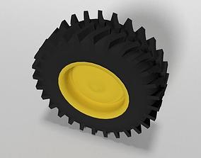 Tractor Tire 3D asset