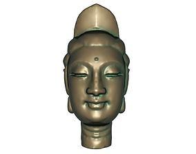 Buddha head 3D print model