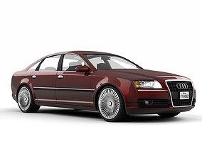 3D Audi A8 Quattro 2005