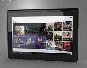 3D asset Sony Tablet S