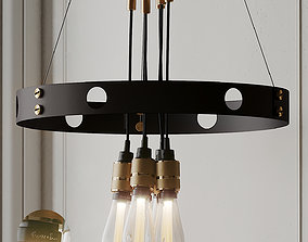 HERO Pendant Light from Buster and Punch 3D model