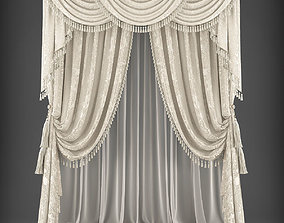 Curtain 3D model 339 realtime