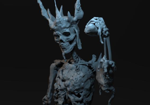 Zombie king