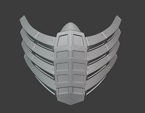 3D printable model Scorpion mask like as from Mortal 4