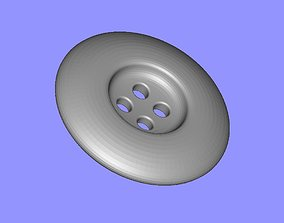 3D printable model 4 Hole Button