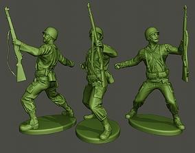 American soldier ww2 grenade A1 3D printable model