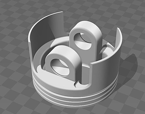 Piston 2CV 3D printable model
