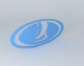 Lada Logo 3D model