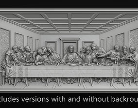 Last Supper Bas-Relief Set 3D printable model