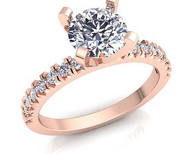 3D printable model Luxury Solitaire Ring