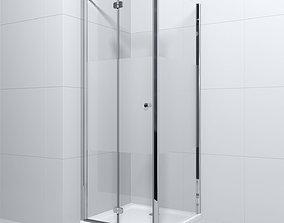Shower cabin Radaway EOS KDJ b and Doros C 3D