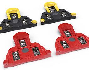 Shimano pedal cleats 3D model