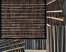 3D Bamboo branch decor n25