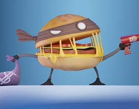 Burger Heist - Stylized Character Model