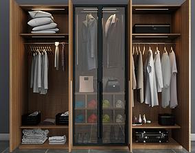 glass 3D modern wardrobe