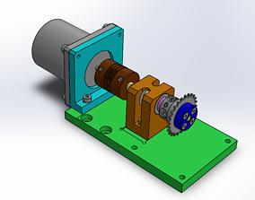 3D print model Motor Assembly