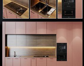 Kitchen Modern 10 3D model