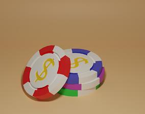 3D asset Casino Chips