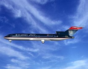3D US AIRWAYS 727 - 200