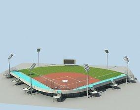 3D Baseball Stadium 02