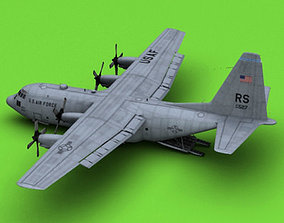 C-130 USAF 3D