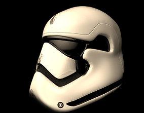 Helmet 3D asset low-poly