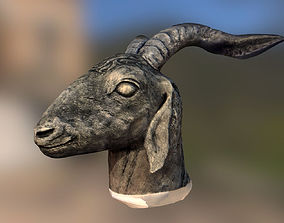 3D Goat Head - scan of clay sculpture