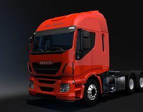 VR / AR ready Iveco Hi-Way Tractor Truck 6x2 3D model