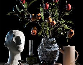 Decorative set 013 3D model
