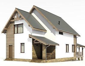 3D model Private cottage