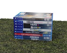 PS4 games 3D model