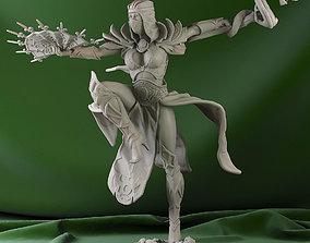 3D printable model Lightning Dragon Set pose 1