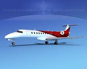 3D Embraer ERJ-135 Corporate 1