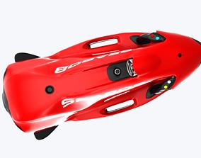 Underwater Seabob 3D model