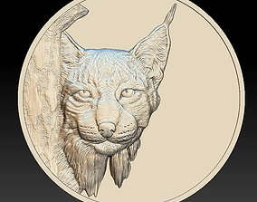 Linx Head Coin - relief - 2020 3D print model