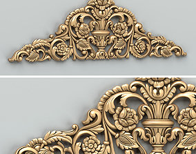 3D Carved decor horizontal 034
