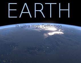 solar 3D model Ultra High Deffinition Earth