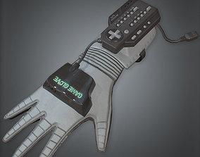 80s - Game Glove Retro 3D model